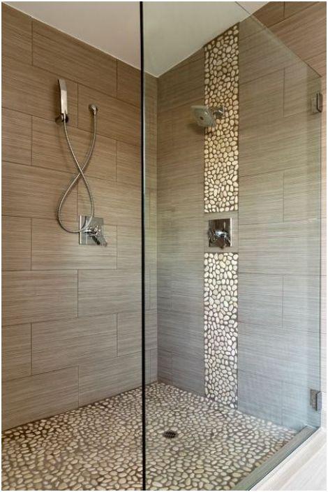 Ciekawy projekt podłogi prysznica