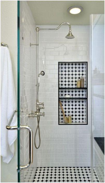 Dzięki takim niszom nie musisz wychodzić z prysznica, aby dostać szampon