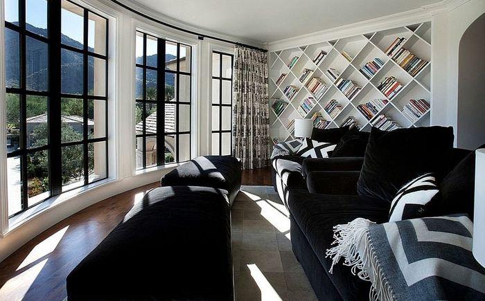 Intérieur de salon par Candelaria Design Associates