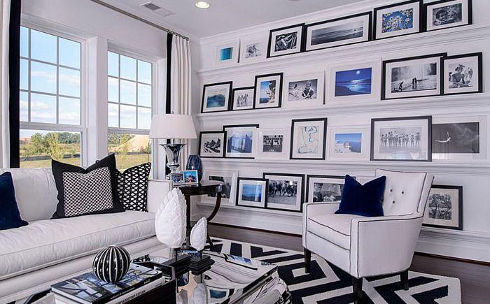 Интериор на хола от M / I Homes