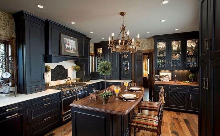 Традиционна черна кухня от Кен Кели
