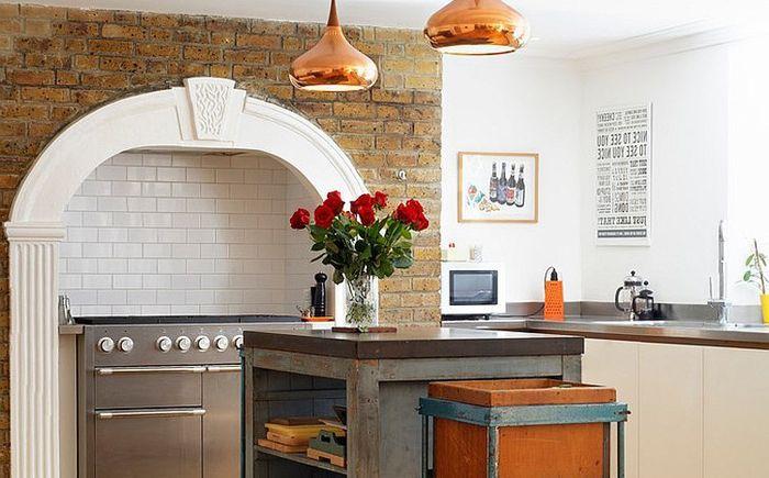 Еклектична кухня от Redesign London Limited