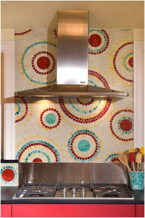 Мозайка за кухненски престилки