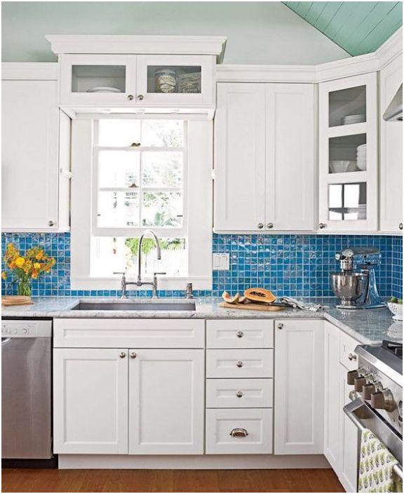 Кухненска престилка - декоративен елемент от кухненския интериор