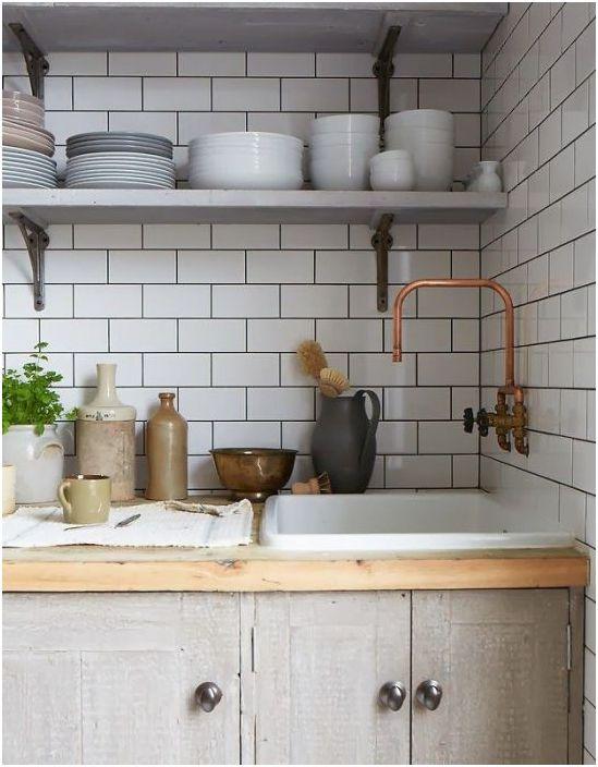 Престилка за кухня в скандинавски стил