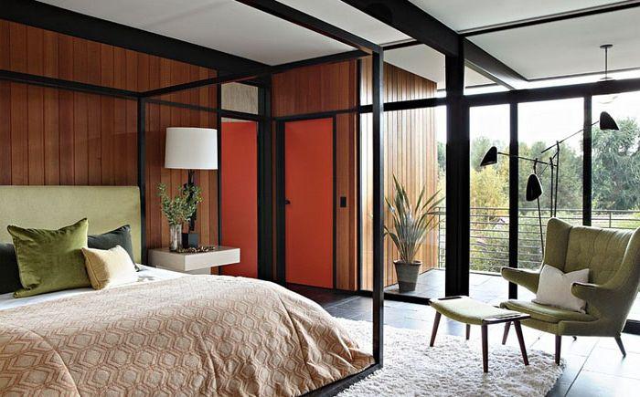 Светлая и уютная спальня от Jamie Bush & Co.