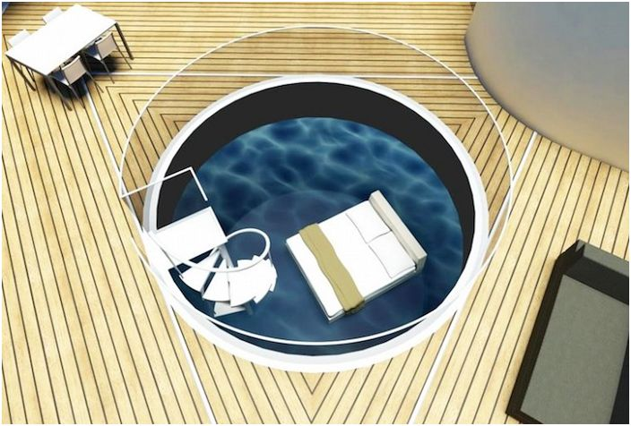SeaScape. Прозрачный цилиндр.