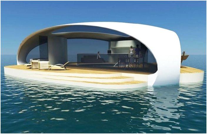 SeaScape - плавающая вилла.