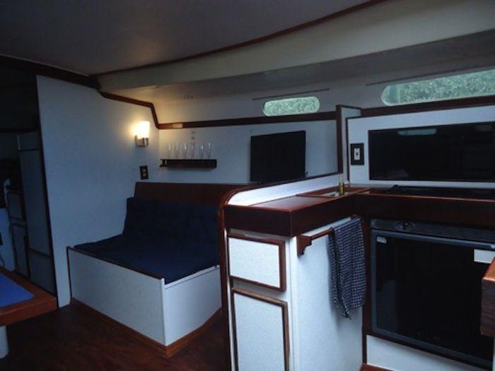 Удобна кабина за необичаен престой.