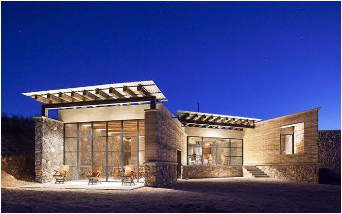 House-cave - jedność natury i architektury od meksykańskich projektantów