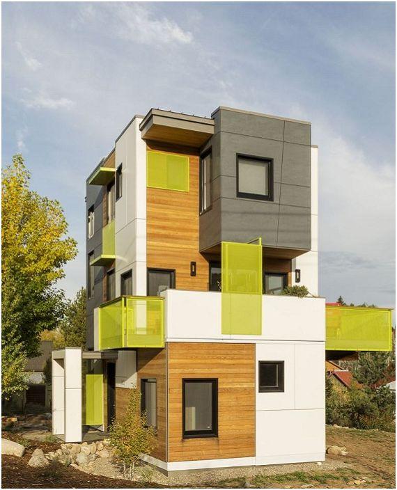 Prosjekt av arkitekt Erik Lobeck.