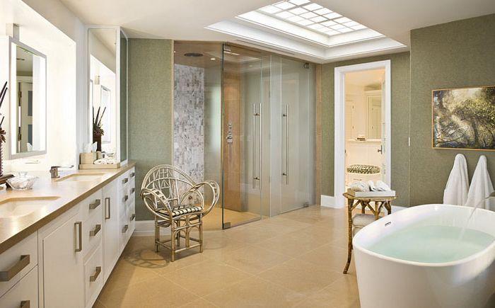 Współczesna łazienka projektu Harte Brownlee & Associates Interior Design