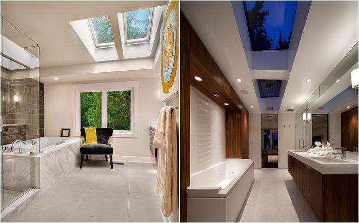 Стилни бани с прозорци