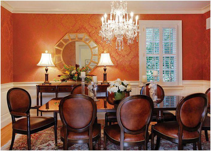 Интериор на трапезарията от Pulliam Morris Interiors