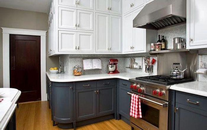 Кухненски интериор в ретро стил