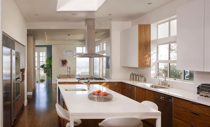 Wnętrze kuchni: John Lum Architecture