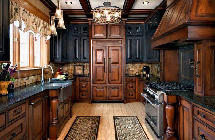 Традиционен кухненски интериор