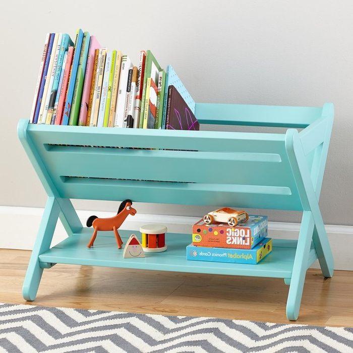 Идея номер 14. Съхранение на книги в детската стая