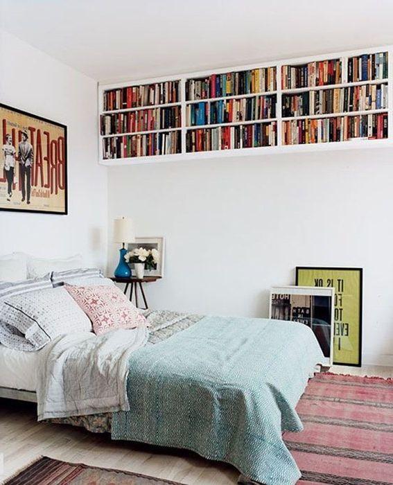 Идея номер 5. Съхранение на книги в спалнята