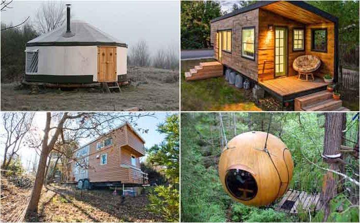 Гениальные решения по дизайну малогабаритных домиков