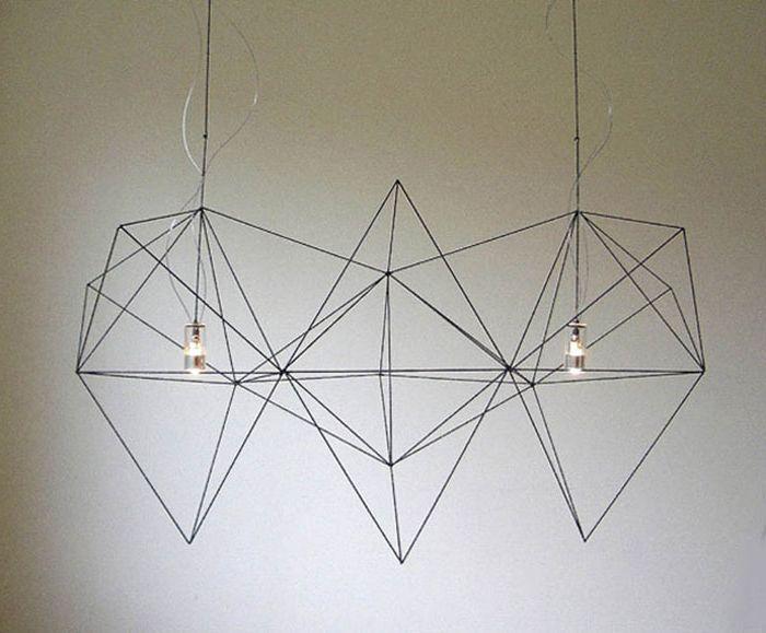 Почти безтеглови геометрични осветителни тела.