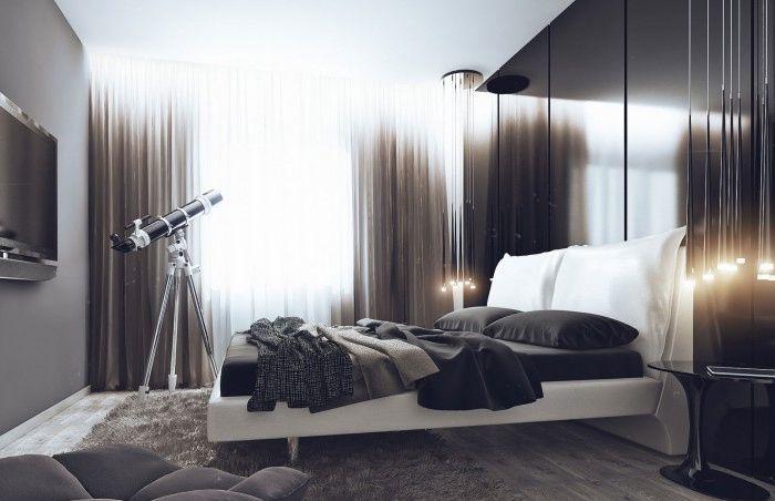 Ергенски апартамент или как един мъж може да направи грешка с дизайна на завеси