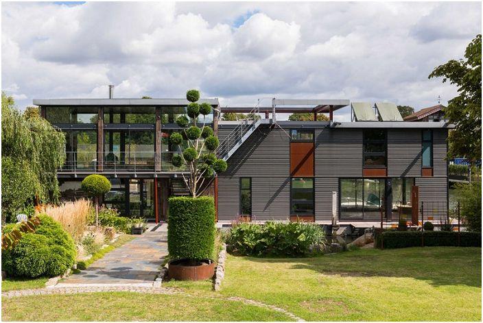 Къща на водата от MAA Architects.