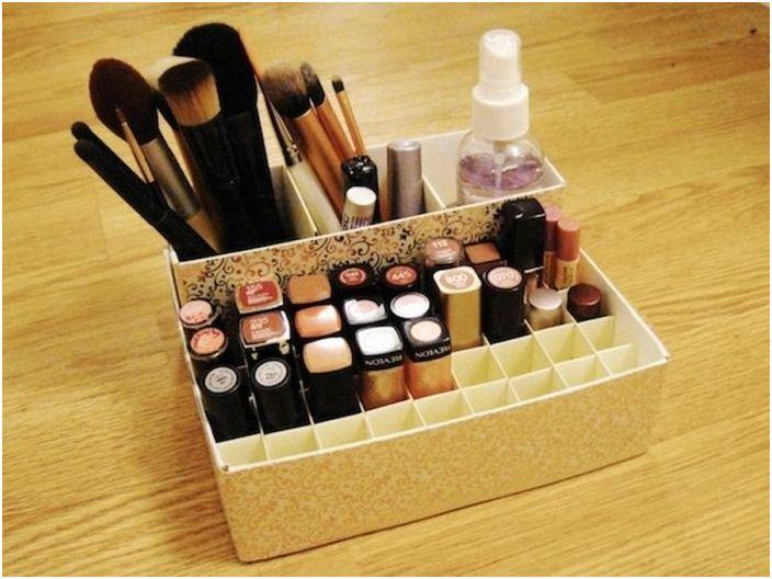 5. Можете да съхранявате козметиката в картонена кутия.