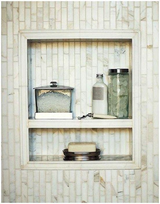 1. Стилна ниша в банята