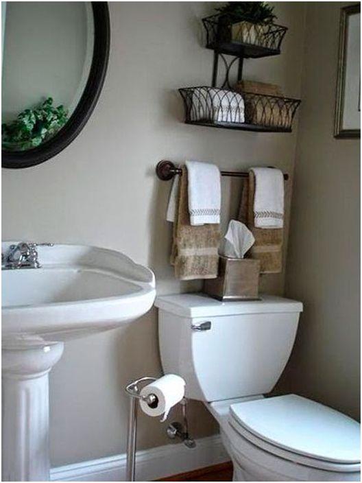 19. Съхранение над тоалетната