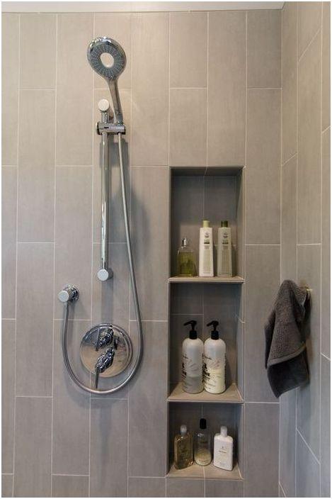 5. Systèmes de rangement laconiques dans la salle de bain