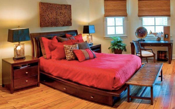 Цветна спалня