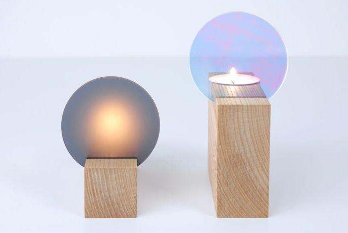 Очарователни свещници от Thier & VanDaalen.