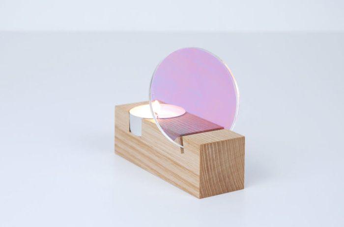 Прост и елегантен дизайн на свещници от Thier & VanDaalen.