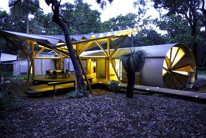 Drew house to wspaniały dom kempingowy w Australii.