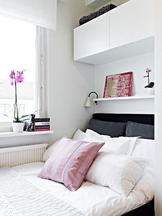 Мебели за малка спалня.