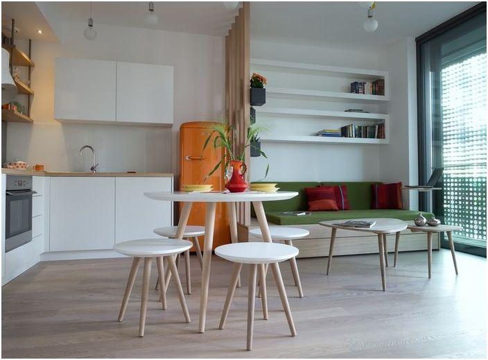 Лаконичен дизайн и ярки цветове