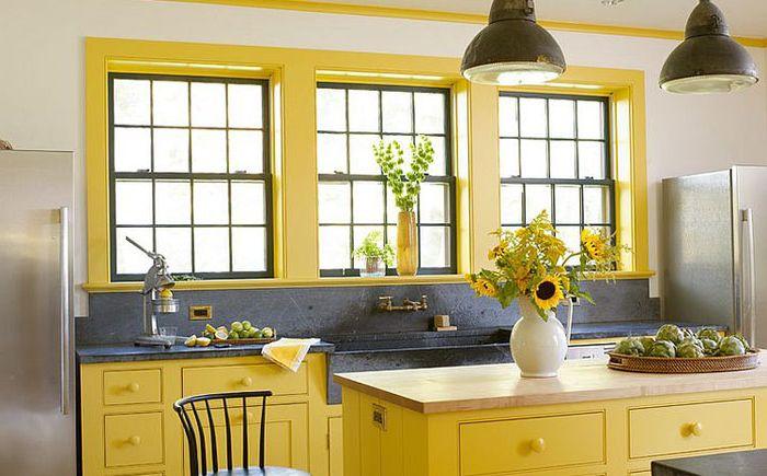 Интерьер кухни в деревенском стиле от Rafe Churchill