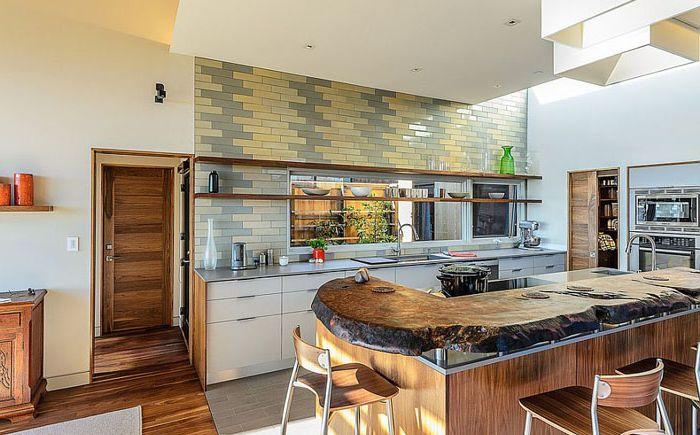 Интерьер кухни от Hudson Street Design