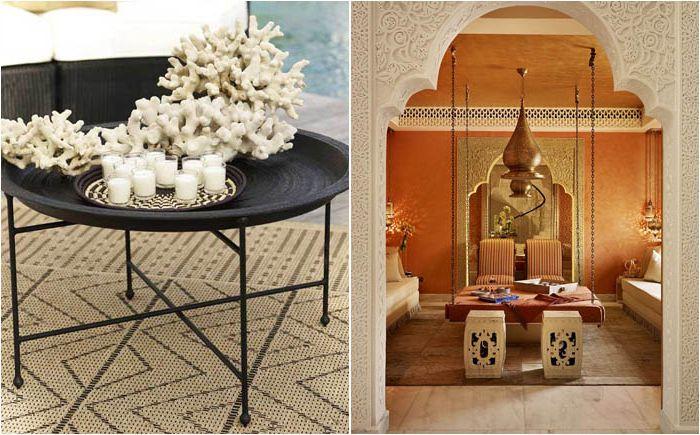 A marokkói stílus élénk színei: 7 lépés a keleti mese felé