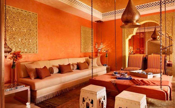 Marokkói stílusú belső