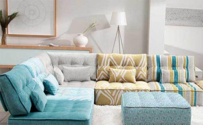 Модулен нисък диван