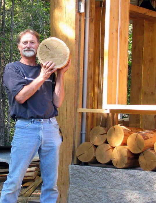 Drewno to materiał podłogowy.