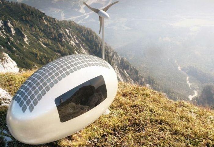 Ecocapsule е футуристична концепция за мини къща.