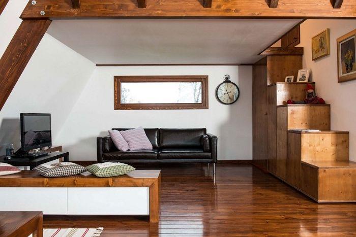 Дом площадью 48 кв. метров.