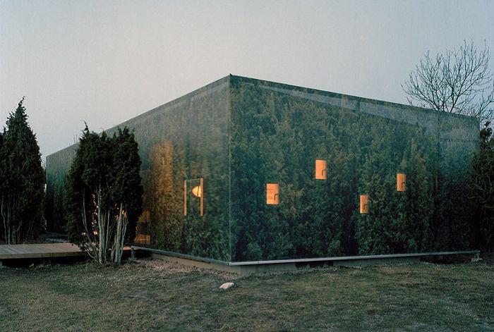 «Juniper House» - дом в «камуфляже».