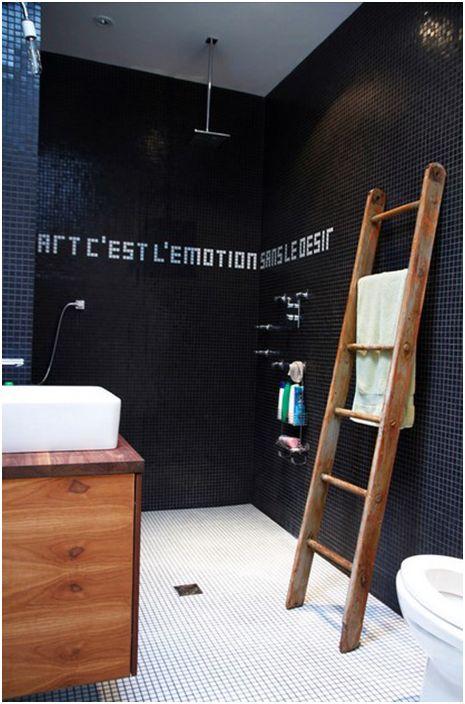 Интериор на банята от Естер Хершкович