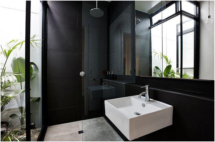 Интериор на банята от Daniel Ash Architects