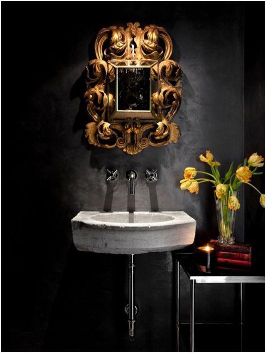 Интериор за баня от Интериорен дизайн на Orange Coast