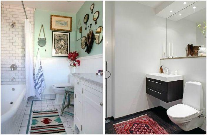Dlaczego potrzebujesz dywanika w łazience i toalecie?